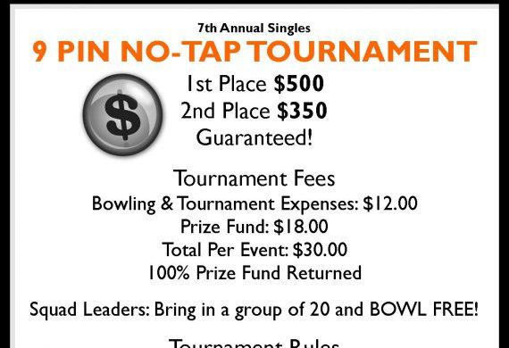 Chucker's 9-Pin No Tap Tournament 2017
